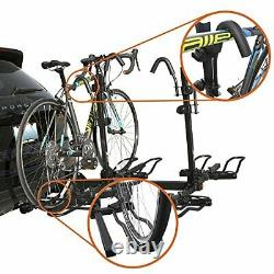 2 Bike/4 Bike Bicycle Hitch Mount Rack Carrier for Car Truck SUV Tray Style S