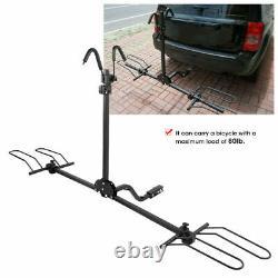 2 Bike Bicycle Platform Car Rear Carrier Rack Hitch Mount Long Travel FREE SHIP