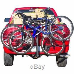 2-Bike Hitch Mounted Bike Carrier Rack Class II, III, IV