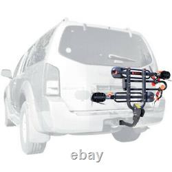 2-Bike Hitch Rack Carrier Trailer for 1 1/4 and 2 Hitch Easy Load Transport