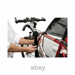 2 Bike Rack Carrier Rear Hitch Mount 2 or 1-1/4 Rail Rack Platform Style New