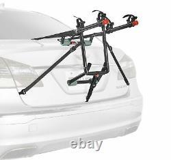 2 Bike Trunk Rack Rear Mount Two Bikes Carrier Car SUV Bicycle Sedans Sturdy Arm
