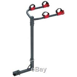 2 Dual Twin Bike Bicycle Trailer Hitch Mount Carrier Rack for Car Suv Truck