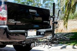 2 Fat Tire Bike Carrier Hitch For Padded Carrier Bicycles Capacity Truck SUV New