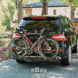 2 Heavy Duty 2 Bicycle Hitch Mount Carrier Stable & Durable