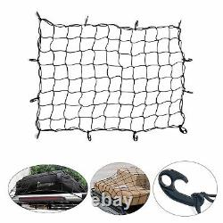 60 Cargo Carrier Hitch Hauler Mounted Receiver Luggage Basket with Cargo Net