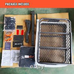 60 Folding Hitch Mount Cargo Carrier Basket & 20 cu. Ft. Waterproof Storage Bag