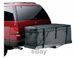 60 Folding Hitch Mount Cargo Carrier Rack With Water Resistant Luggage Cargo Bag
