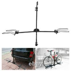 80lb Bike Carrier Auto Rear Trailer Tow Hitch Mounted Bicycle Rack Holder Parts