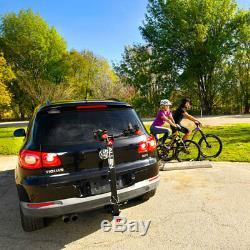 Allen Sports 532QR Deluxe QR Locking 3 Bike Carrier Mount Rack up to 2 Hitch