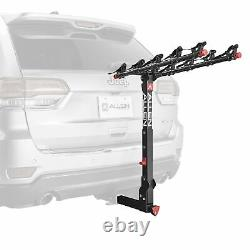 Allen Sports 850QR Deluxe + Locking Quick Release 5-Bike Carrier for 2 Hitch