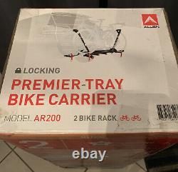 Allen Sports AR200 Premier Locking Hitch Mounted Tray 2-Bike Carrier Rack 26-29