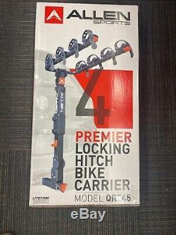 Allen Sports Premier Locking Quick Release 4-Bike Carrier for 2 in. Hitch, QR545
