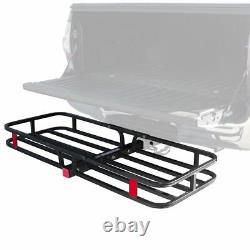 Apex CC-1951 53 Hitched Mounted Steel Cargo Carrier Basket 500 lb Cap