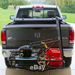 Apex Hitch-Mounted Steel Cargo Carrier with Ramp 500 lb. Capacity