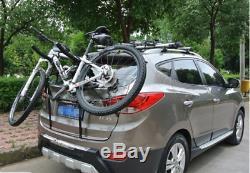 BIKE CARRIER CAR Rear Mount Bike Rack Car Bike Carrier Rear Mount for 2 Bikes
