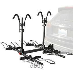BV 4 Bikes Bicycles Hitch Mount Rack Carrier for Car Truck SUV BV-HR02-4