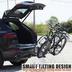 BV Bike Hitch Mount Rack Carrier for Car Truck SUV Tilting Design BV-HR01-2