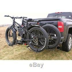 Big Fat Tire Bike Rack Carrier Mount Hitch Folding Padded Truck SUV Steel Mount