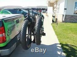 Big Tire Bike Rack Mount Trailer Hitch Tray SUV Universal Carrier Tray Style