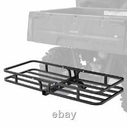 Black Widow 48 Steel Hitch-Mounted ATV Cargo Carrier 150 lb. Capacity