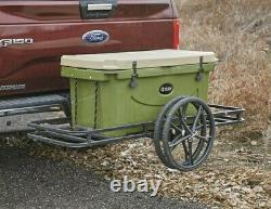 Car-Go-Cart Hitch Mounted Cargo Carrier and Game Cart Deer Hog Hauler Camping