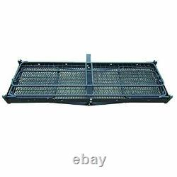 Cargo Carrier, 500 lb. Hitch-Mount Folding Collapsible Steel Car Cargo Carrier