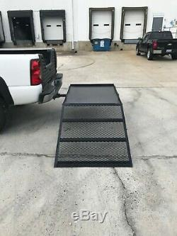Cargo Carrier Hitch Mount with Ramp