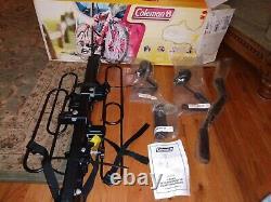 Coleman Hitch Mount Bike Rack, 2-Bicycle Carrier, 2 Receiver platform 2223-703