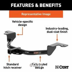 Curt Class 3 Trailer Hitch Tow Cargo Bike Rear Receiver for 2017-2020 Pathfinder