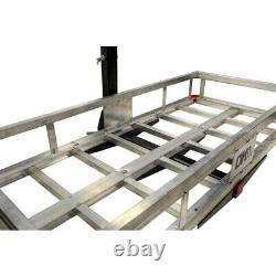 Detail K2 500 Pound Trailer Hitch Mounted Aluminum Cargo Carrier Rack (Open Box)