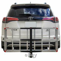 Detail K2 HCC502A 500 Pound Trailer Hitch Mounted Aluminum Cargo Carrier Rack