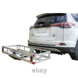 Detail K2 HCC502A Hitch-Mounted Aluminum Cargo Carrier New