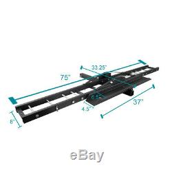 Fit 2 Receiver Scooter Motorcycle Bike Car Carrier Hitch Mount Rack Load Ramp