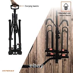 HYPERAX Hitch Mounted E Bike Rack Carrier for 2 inch/1.25-inch Receivers Fits