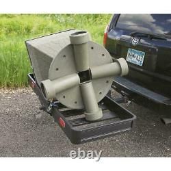 Hitch Mount Folding Cargo Carrier Aluminum Luggage 2 Receiver Hauler 500 lbs