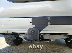 Hitch mount spare tire carrier