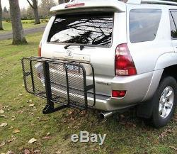 HitchMate CargoLoad Fold Up 2 Hitch Mount Cargo Carrier Travel Luggage outdoor