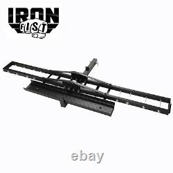 IRON FIST Steel Motorcycle Scooter Dirt Bike Carrier Hauler Hitch Mount Ramp