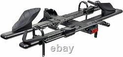 KAC Hitch Mount 2-Bike Rack Bicycle Carrier Front Clamping, Platform Style