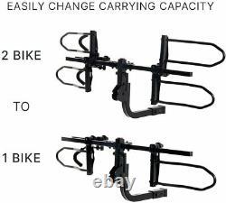 KAC Overdrive Sports Hitch Mounted Rack 2-Bike Platform K22 Style Smart Carrier
