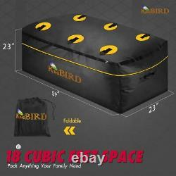 KING BIRD 60x24x6 Folding Rack Cargo Carrier Basket Hitch Mount Luggage WithBag
