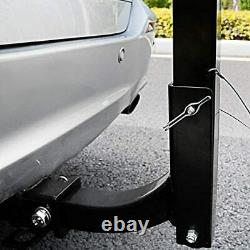 Leader Accessories Hitch Mounted 2 Bike Rack Bicycle Carrier Racks Foldable Rack