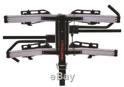 Malone Pilot Hm2 Solo Hitch Mount Platform 2 Bike Carrier 1.25 In. And 2 In