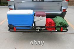 MaxxHaul 70107 Hitch Mount Compact Cargo Carrier 53 x 19-1/2 500 lb. Maxim