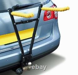 Maypole Universal Secure Towbar Mounted 3 Cycle Carrier Bike Rack Travel Holder