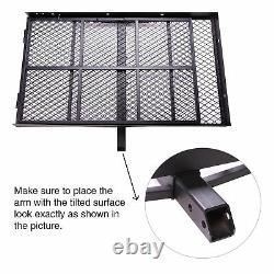 Mobility Carrier Wheelchair Foldable Hitch Mount Carrier Loading Ramp new