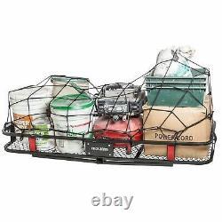 Mockins Hitch Mount Cargo Carrier The Steel Cargo Basket is 60 Long X 20