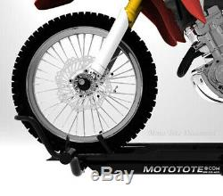 MotoTote Motorcycle Carrier MotoTote MTX m3 Bike Hauler Hitch Mounted withRamp