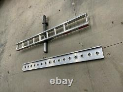 Motorcycle/dirt bike hitch mounted carrier with long 6' self storing ramp
